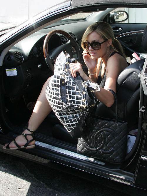 Lauren Conrad, High-End Bag Lady
