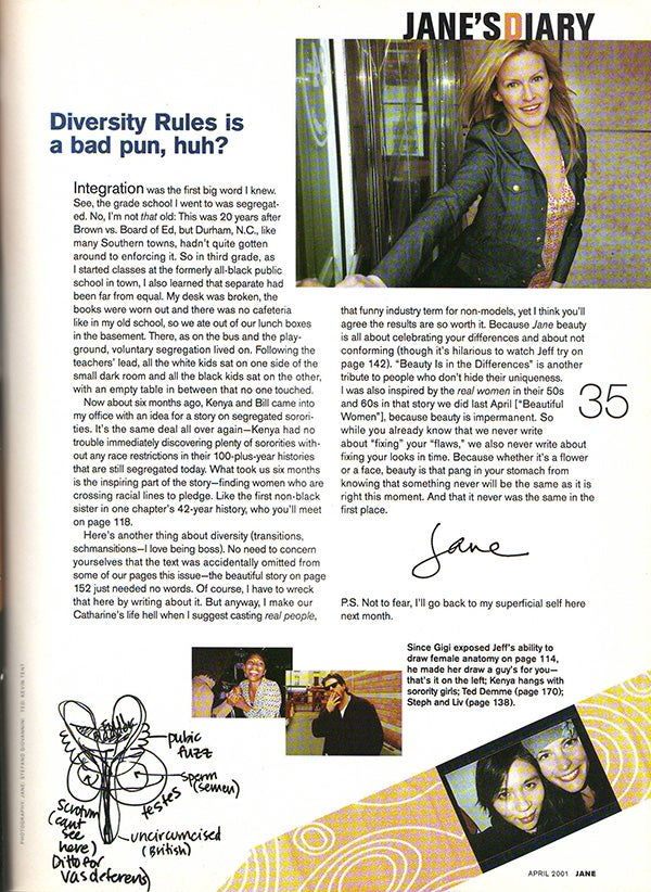 I Found a Jane Magazine from 2001