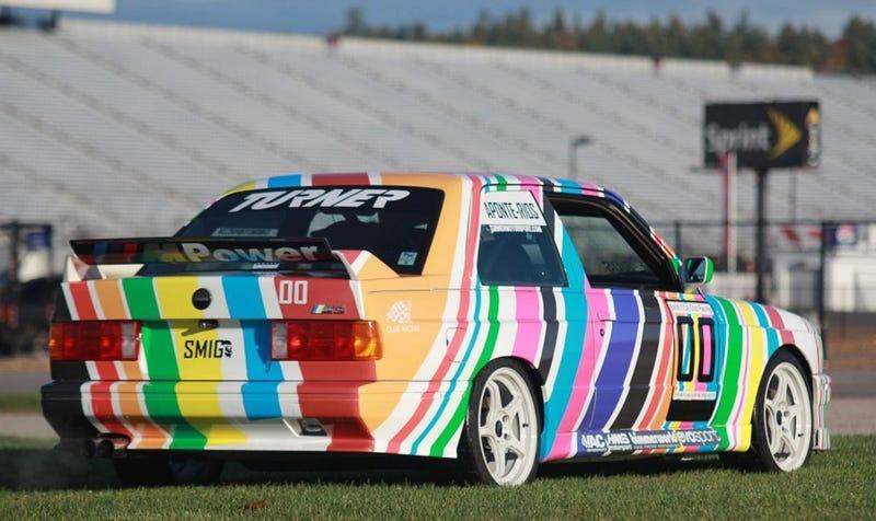 The homemade E30 M3 Art Car