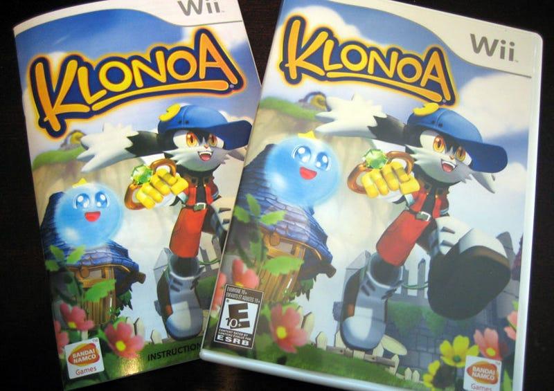 Klonoa Wii Packaging Surprisingly Simple, Tasteful, Tasty
