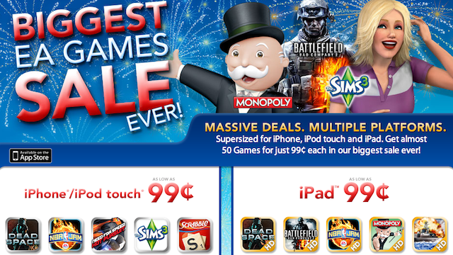 Here Are the Fourth of July iPhone and iPad Games Sales
