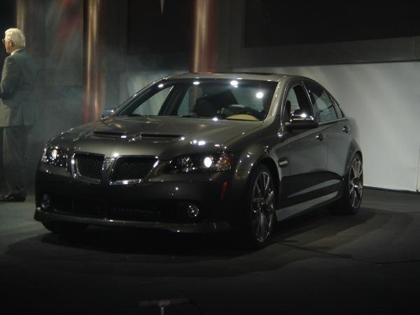 New 2008 Pontiac G8 Pricing Starts At $27,595, V8 G8 GT To Start At $29,995