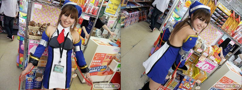 Nothing Says BlazBlue Launch Like Cosplaying Clerk