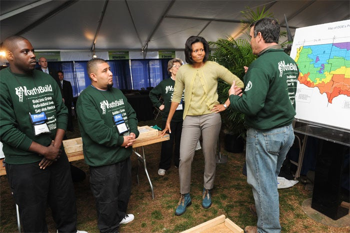 Michelle Obama's Boots Were Made For Mocking