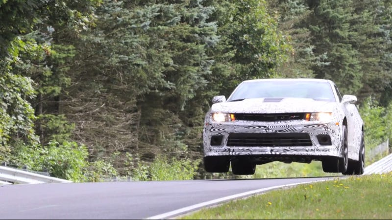 The Chevy Camaro Z/28 Is The First Car That Wants You To Fly