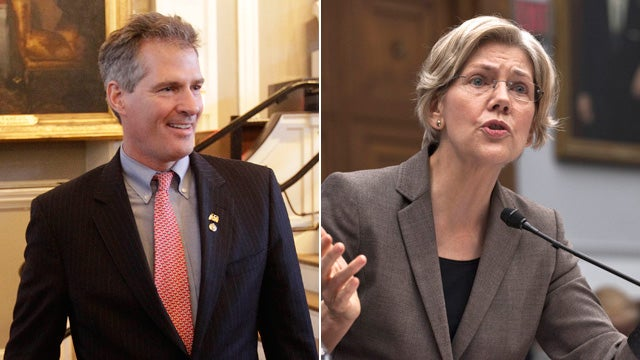 Scott Brown Relieved That Elizabeth Warren Never Posed Naked