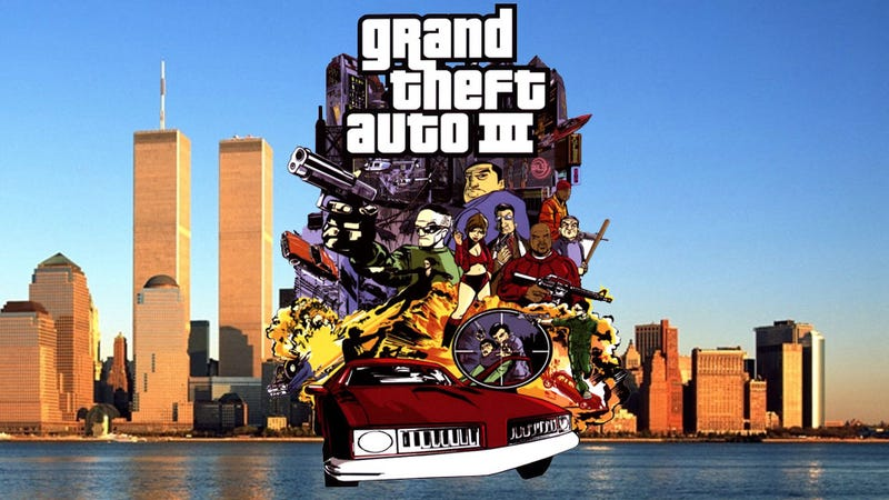 9/11 Changed Grand Theft Auto III, But Only a Tiny Bit