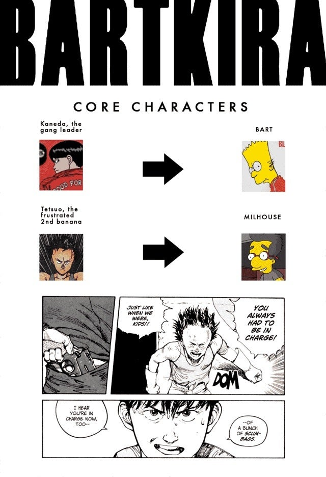Akira-Meets-The-Simpsons Gets a Full Cast. It Might Surprise You.