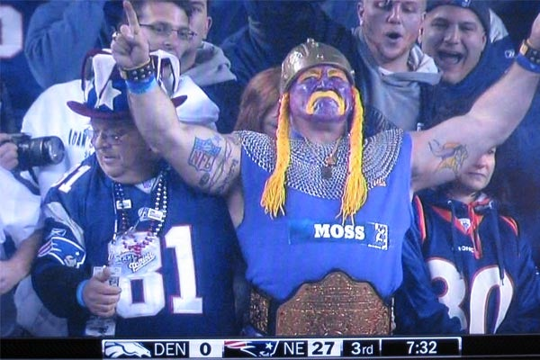 Um ... Go, Vikings?