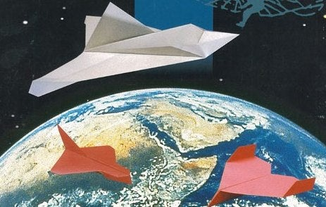 Japan to Send Peace Message from Space on a Paper Airplane