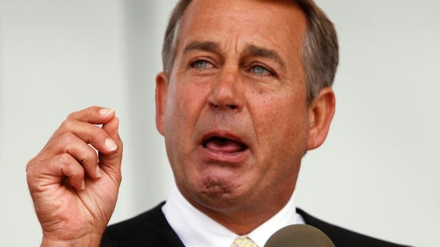 John Boehner Choked Up by Lack of Business Attire