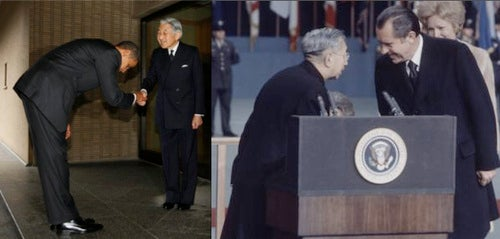 Know Who Else Bowed to Japan's Emperor? Nixon.