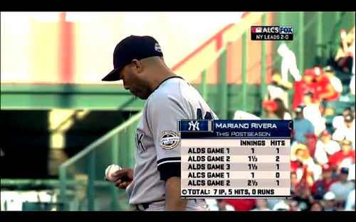 Paranoid Angels Fans Accuse Mariano Rivera Of Throwing Spitballs