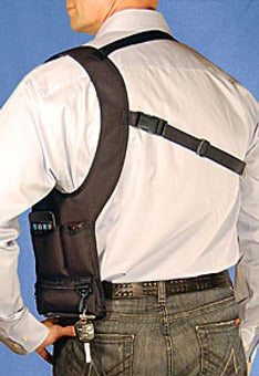 iPhone Shoulder Holster Is Chuck Norris' Favorite Fashion Accessory