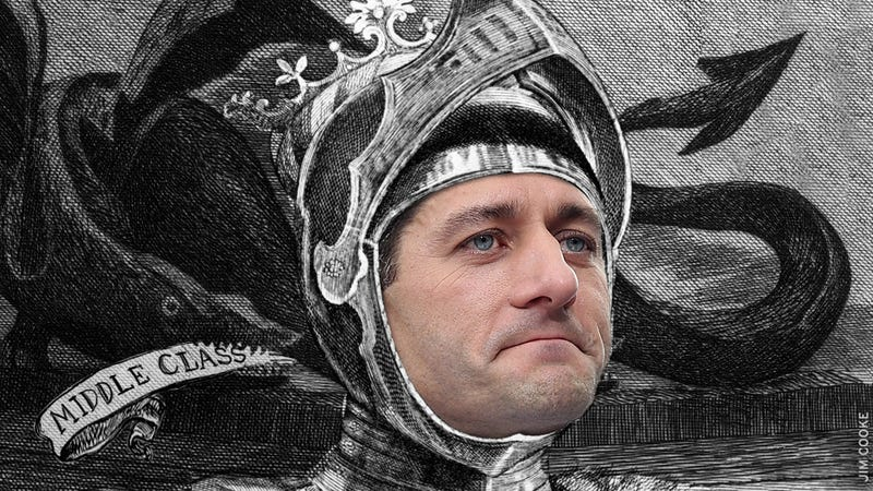 Breaking Down the Many Myths of Paul Ryan, Everyday Dragonslayer