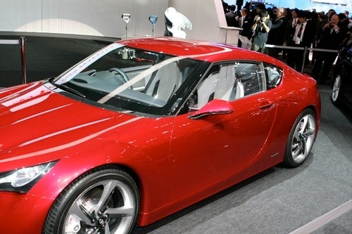 Toyota FT-86: 2009 Tokyo Motor Show Live Photos