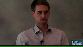 Snapchat CEO: The Friend I Screwed Should Be Grateful
