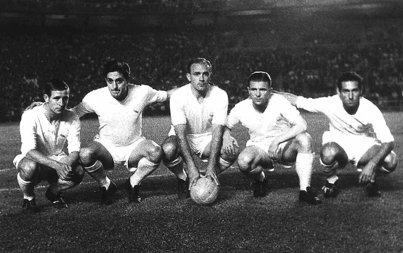 Alfredo Di Stéfano Could Wallop With The Best Of 'Em