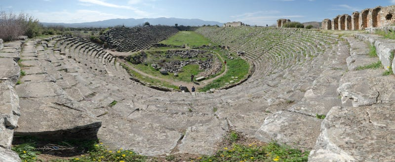 This gorgeous 50,000-seat stadium is over 2,000 years old