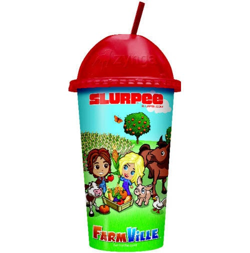 Farmville Gets Official...Ice Cream & Slurpees