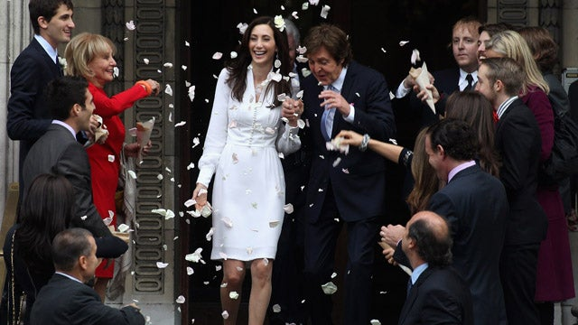 Paul McCartney And Nancy Shevell Get Married!