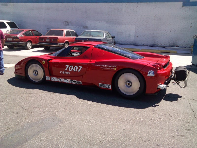 The World's First Twin-Turbo Ferrari Enzo
