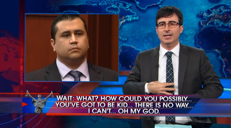 The Daily Show's Zimmerman Coverage Is as Rage-Filled as It Should Be
