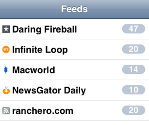NetNewsWire Brings Synced RSS Feeds to Your iPhone