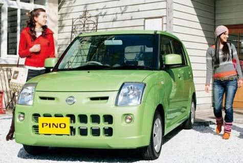 Nissan Pino Has Young Japanese Women In Its Fluffy Pink Crosshairs