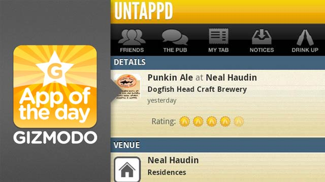 Untappd for iPhone and Android: Like Foursquare But for Beers