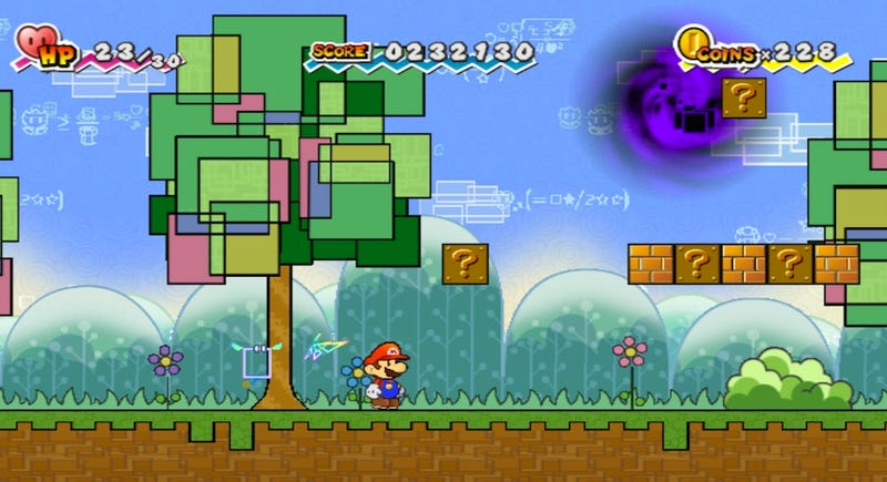 Super Paper Mario Is A Role-Playing Game About Nintendo