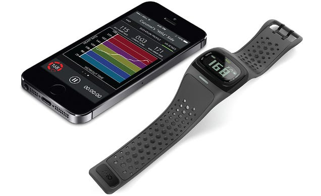 The Mio ALPHA 2 Heart Rate Watch Adds anAccelerometer and a Backlight