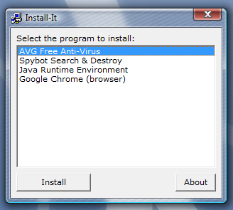 Install-It Creates Auto-Starting Installer CDs for Any Applications