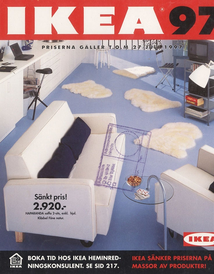 Every Ikea Catalog Cover Since 1951