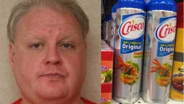 Naked Man Covered in Crisco Told Police He was 'Looking for a Place to Party'