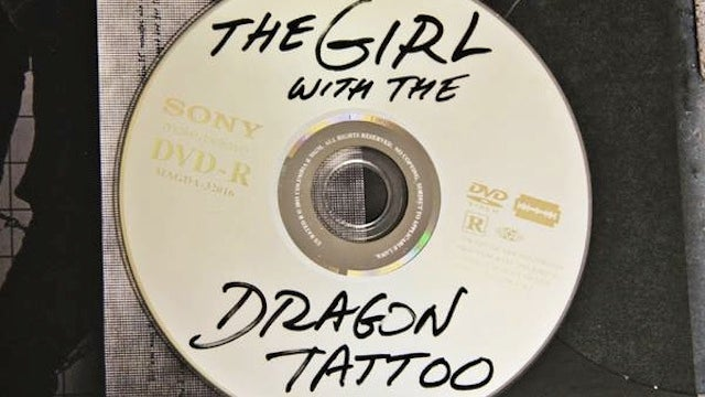The Official DVD for The Girl with the Dragon Tattoo Looks Like a Pirated Disc