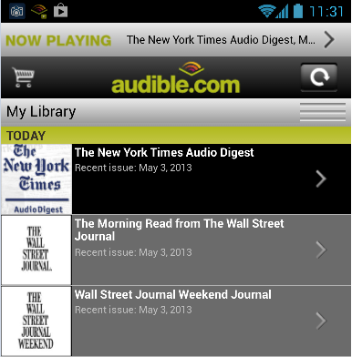 Morning Fix, Times Four - Catch Up On Your Daily Newspapers with Audible