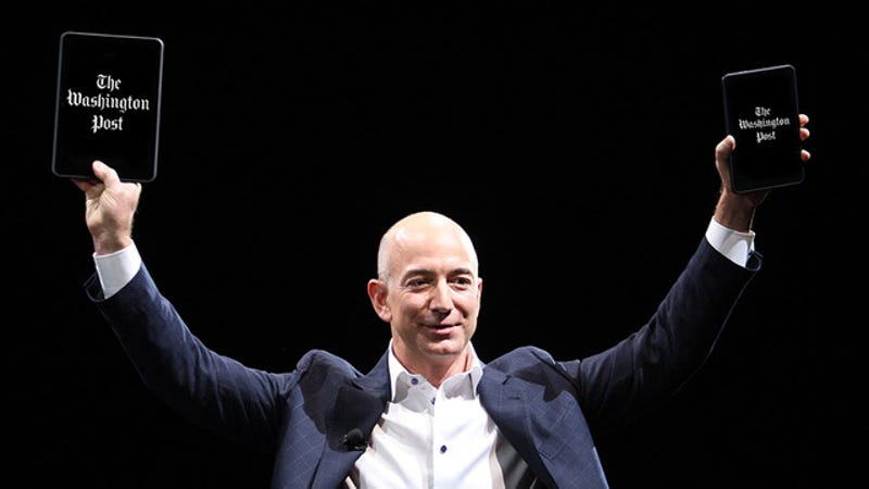 Jeff Bezos Is Buying the Washington Post for $250 Million