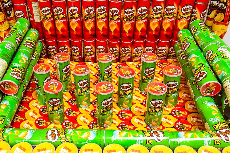 Here's What a Team of Artists Made Out of a Ton of Pringles Cans