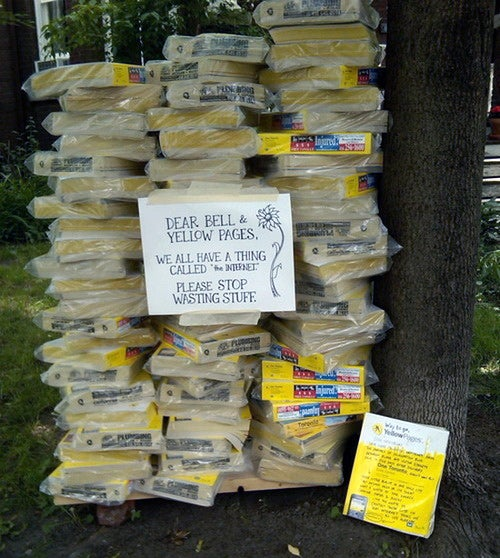 Hey Yellow Pages, It's Time for You to Die