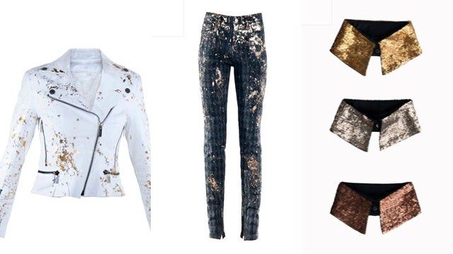 Karl Lagerfeld's Gold-Splattered Olympic Collection Debuts Tonight