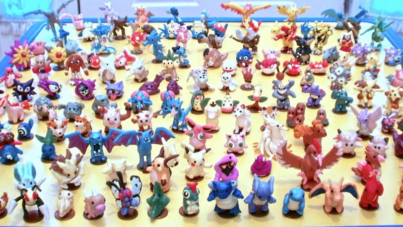 The Original 151 Pokémon Made Very, Very Small