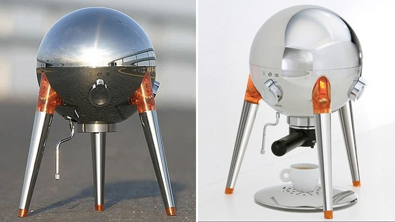 Is This Nasa's Next Lunar Lander, Or a Gorgeous Espresso Machine?