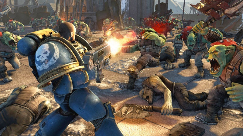 Warhammer 40,000: Space Marine Deployed To PC