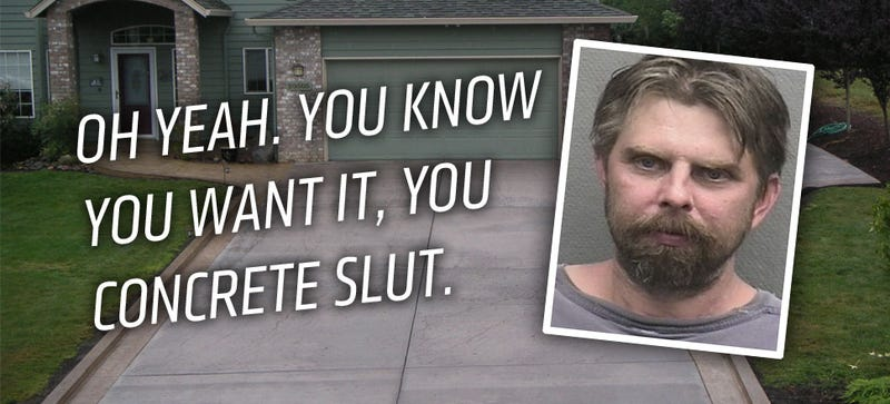 Texas Man Arrested For Humping Sexy, Sexy Driveway