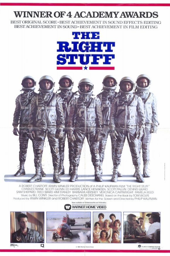Your (Weekly) Oscar Season Movie Guide to Movies You Should Watch Again: The Right Stuff
