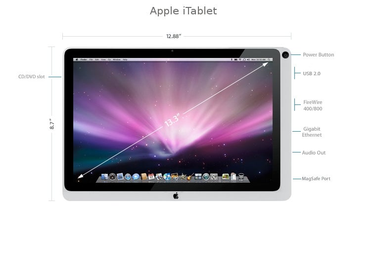 Apple Touchscreen Tablet Contest Winner and Gallery