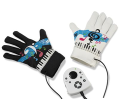 Portable Pianist Sounds Dirty, but Makes Sense with These Fingertip Keyboard Gloves