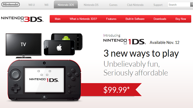 I Kinda Wish This 'Nintendo 1DS' Were A Real Thing
