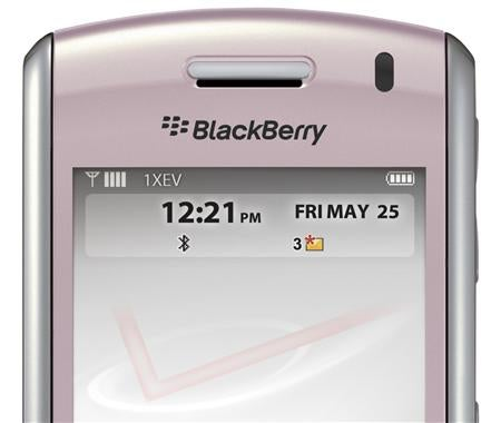 Pink BlackBerry Pearl Aimed at Consumer Market as RIM Feels iPhone Heat